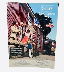 Vintage Sears 1976 Spring Summer Catalog book Southern Edition