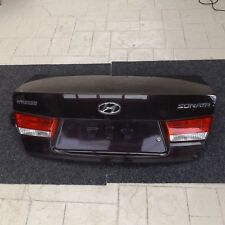 USED HYUNDAI NF SONATA SEDAN ALL MODEL REAR TRUNK PANEL ASSY