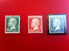 Lot de 3 timbres neufs ** et * 1923/26 Lot 382