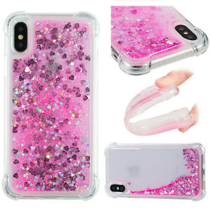 2018 Soft Hybrid Glitter Quicksand Painting Case Cover For Android Phone iPhone