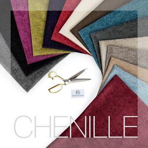 Chenille Velvet Shimmering Heavy Weight Upholstery Fabric Fire Retardant