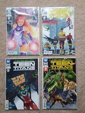 Lot Of 4 Teen Titans Comic Books Dc Rebirth #16-19 Complete