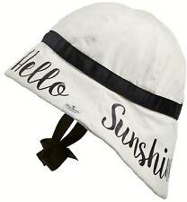 df23f126e17 Elodie Details Sun Hat Saying 6-12 Months Children Baby Hat Hello Sunshine