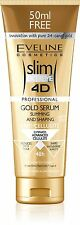Eveline Cosmetics Slim Extreme 4D firming GOLD Cellulite Serum 8.8oz-