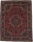 Floral Design Classic Vintage 9'6X12'5 Signed Handmade Oriental Rug Wool Carpet