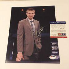 TONY DUNST Signed 8x10 Photo Auto PSA/DNA COA WPT WSOP Raw Deal Poker Pro
