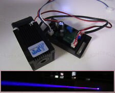 Real 1000mW~1200mW 445nm~450nm high power blue laser module TTL DC 12V input