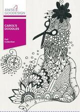 Carol's Doodles Anita Goodesign Embroidery Machine Design Cd New 251Aghd