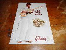 VINTAGE MUSICAL INSTRUMENT CATALOG #10014 -1976 GIBSON GUITAR - CARLOS SANTANA