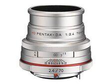 PENTAX HD Da Limited 70mm F2.4 Lens - Silver