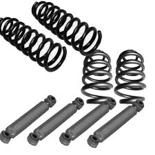 "C10 2"" front 4"" rear drop Suspension 1963-72 Chevy GMC Coils and shocks xzx"
