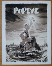Popeye John Keaveney poster NYCC VARIANT Not Mondo