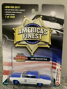 Racing Champions Mint America's Finest - 1967 Plymouth Fury New York City Police
