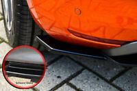 Heckansatz Seitenteile aus ABS für Renault Clio 5 R.S Line Schwarz Glanz
