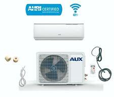 12000 BTU AUX Ductless Air Conditioner Inverter Heat Pump MiniSplit WiFi 12 FT