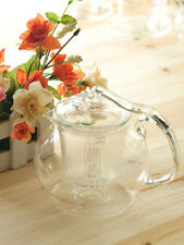 600ml glass teapot with filter,Heat-resistance coffee pot,Good for gifts,B14