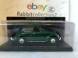 "Die Cast "" Volkswagen Escarabajo 1200 Standard 1960 "" Scale 1/24"