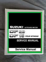 Suzuki DF9.9 DF15 outboard boat 4 stroke motor service workshop manual
