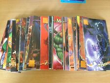 Collector:1995 iMAGE WILDSTORM GALLERY Complete Trading CARD SET#1-120