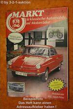 Oldtimer Markt 4/87 NSU Sport Prinz Honda S 800 Fiat