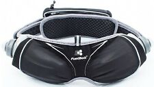 FuelBelt Helium Ergo Hydration Bottle Belt Black Adjustable Running Waist Bag