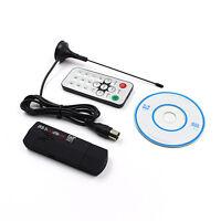 Set Digital TV Tuner USB 2.0 Dongle Stick TV Receiver R820T2RTL2832U SDR SW