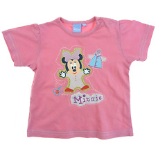 disney tee-shirt manches courtes rose fille 18 mois