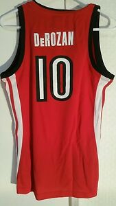 Adidas Women's NBA Jersey Raptors DeRozan  Red sz M