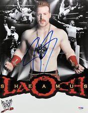 Stephen Farrelly 'Sheamus' Signed 11x14 Wrestling Photo *Wwe Psa S87160