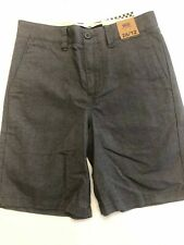 Vans New Dewitt Shorts Boy's Size Youth 26/12 Gravel Heather