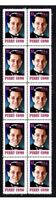 PERRY COMO SINGING STAR STRIP OF 10 MINT VIGNETTE STAMPS 1