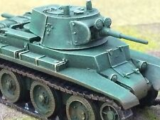 1/56 28mm DPS painted WW2 Bolt Action Soviet USSR Early War BT-7 Light Tank T125