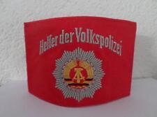 DDR cold war communist East german Police helper armband ( with emblem ) GDR RDA