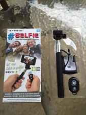 Bluetooth Remote SPY iPhone Android Stealth Camera Video Activation Selfie Stick