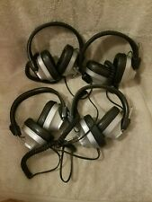 LOT OF 4 MPC EDUCATIONAL SYSTEMS MX-300 HEADPHONES 600 OHM