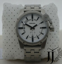 NEW DIESEL OVERSIZE BAD COMPANY STAINLESS STEEL WATCH STRAP WATCH DZ4237