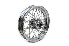 16  Rear Spoke Wheel Chrome For Harley-Davidson