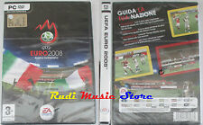 PC DVD  UEFA EURO 2008 austria-switzerland SIGILLATO EA SPORTS no playstation