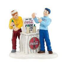 Dept 56 Snow Village COKE IS IT 4035587 New 2013 The Coca Cola Company