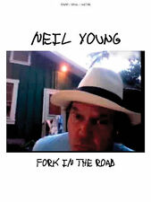 NEIL YOUNG - FORK IN THE ROAD PIANO GUITAR SONG BOOK