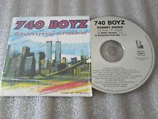 CD-740 BOYZ-SHIMMY SHAKE-DJ BUBU/MIXMASTER/WINSTON ROSA-(CD SINGLE)1995-2TRACK