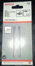 BOSCH PLANER BLADES.  82mm. One Pair Pack. (GENUINE).