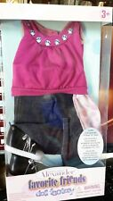 """Nmib Madame Alexander Favorite Friends Sparkling Style 18"""" Doll Outfit #51595"""