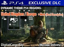 The Last Of Us Part 2 Duality Dynamic Theme PS4 DLC | UK / Europe + More Regions