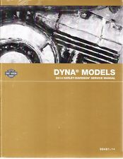 2014 Harley Dyna FXD Service Repair Workshop Shop Manual Book 99481-14