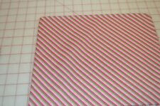 Brother Sister Design Studio Diagonal Striped fabric - reds, greens -- Gorgeous