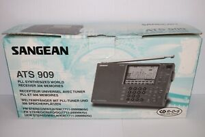 Sangean ATS 909 FM-Stereo / MW / LW / SW PLL Synthesized Receiver