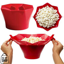Silicone Microwavable Popcorn Popper Collapsible Bowl FREE Shipping AU Stock