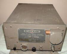 Vintage Bendix Radio Type MN-26C Radio Compass  Vacuum Tubes