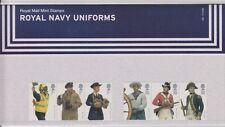GB 2009 NAVY UNIFORMS PRESENTATION PACK No.  431 SG:2964 -2969 MINT STAMP SET